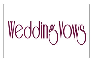 Name Of The Company Written In Stylish Font As Logo Gives A Promising Look To Help Us Make Dream Weddings Come True