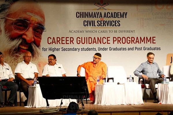 A Visual Image Shown The Career Guidence Program Meet Conducted By Chinmaya IAS Academy.